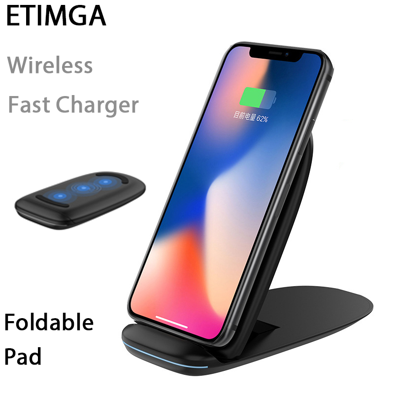 15W Qi Wireless Charging Pad Anti-Slip with Colorful LED for iPhone Xs//XS Max//XR//X//8 Huawei P30 Pro Xiaomi Mi 9 Samsung Galaxy S10 S10 Nillkin Fast Wireless Charger S10e S9 S8 Plus