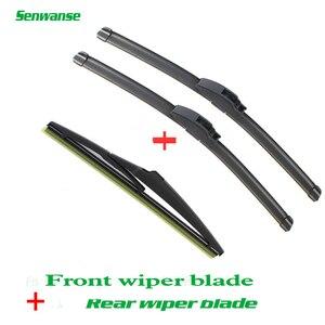 Передние и задние щетки стеклоочистителя Senwanse для Toyota Prado 2009-2012 автомобильные аксессуары для лобового стекла 26