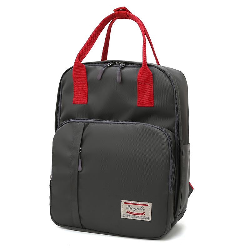 Waterproof Large Capacity Travel Backpack Mummy Diaper Bag Baby Bottle Bags Women Shoulder Hobos Fashion Carry Stroller
