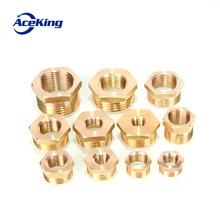 Full copper inner and Internal thread conversion External thread copper connector connector