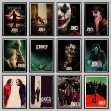 Фильм плакат с джокером крафт-бумага Джокер происхождения фильм Искусство Печать Мультфильм СТЕНА картина Бэтмен враг старый фильм плакат