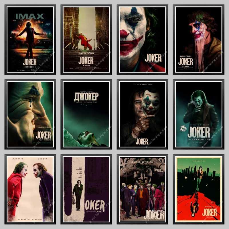 2019 Nouveau Film Joker Affiche Papier Kraft Joker Origine Film