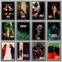 2019 New Movie Joker Poster kraft paper Joker Origin Movie Art Print Cartoon Wall Picture Batman's Enemy Old Film Poster(China)