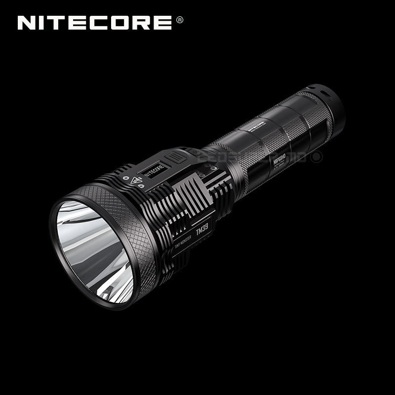 1500 Meters Max Throw Nitecore TM39 5200 Lumens Flashlight Multifunction OLED Display Superior Searchlight with Battery Pack