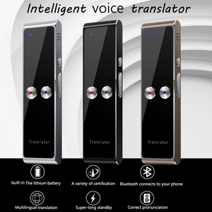 Image 1 - Kebidumei t8 + 휴대용 스마트 인스턴트 실시간 음성 다국어 번역기 40 + 언어 번역 음성 번역기