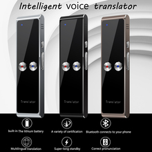 Kebidumei t8 + portátil inteligente voz em tempo real tradutor multi idiomas 40 + tradutor de voz de tradução de idioma