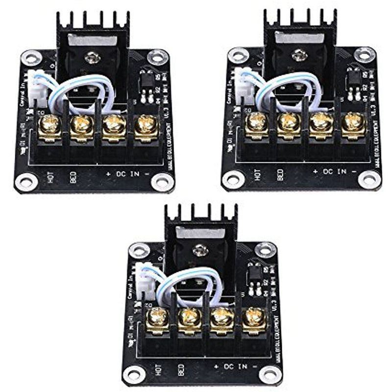 3PCS 60x50mm Heatbed Hot Bed Power Module Expansion MOS Tube For 3D Printer-in 3D Printer Parts & Accessories from Computer & Office