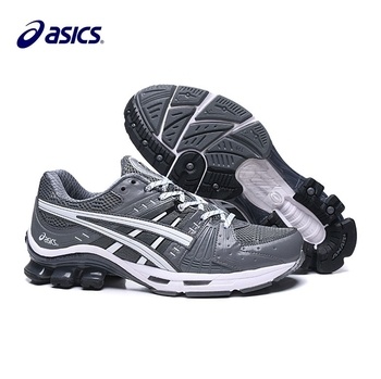 Asics GEL-Kinsei OG new stable cushioning shock-absorbing running shoes, dark gray, white and black, size 40.5-45