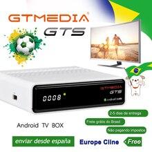 GTmedia GTS Android Satellite Receiver  DVB-S2 tv box support IPTV Cccam support full hd 4K H.265  satellite tv receiver цена 2017