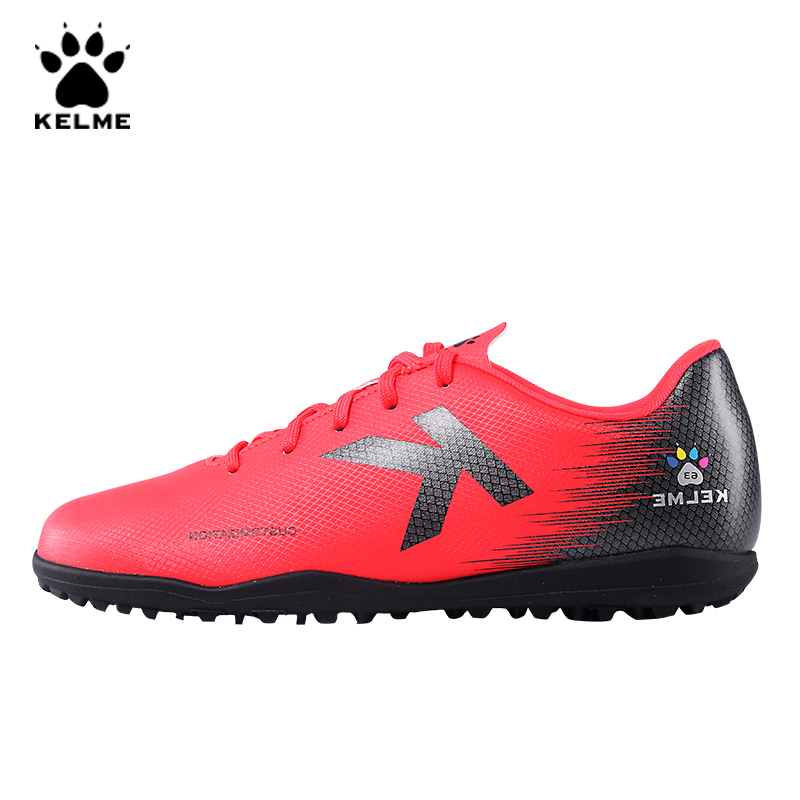 KELME Brand Professional Men's Football Boots Soccer Shoes Men TF Original Sneakers Training Soccer Cleats Futsal Boot 6991349