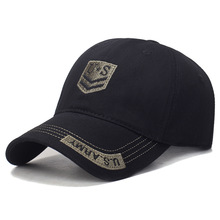 купить New retro baseball caps for men and women in spring and summer US horizontal and  letters embroidery  Adjustable Hip Hop Hats по цене 773.76 рублей