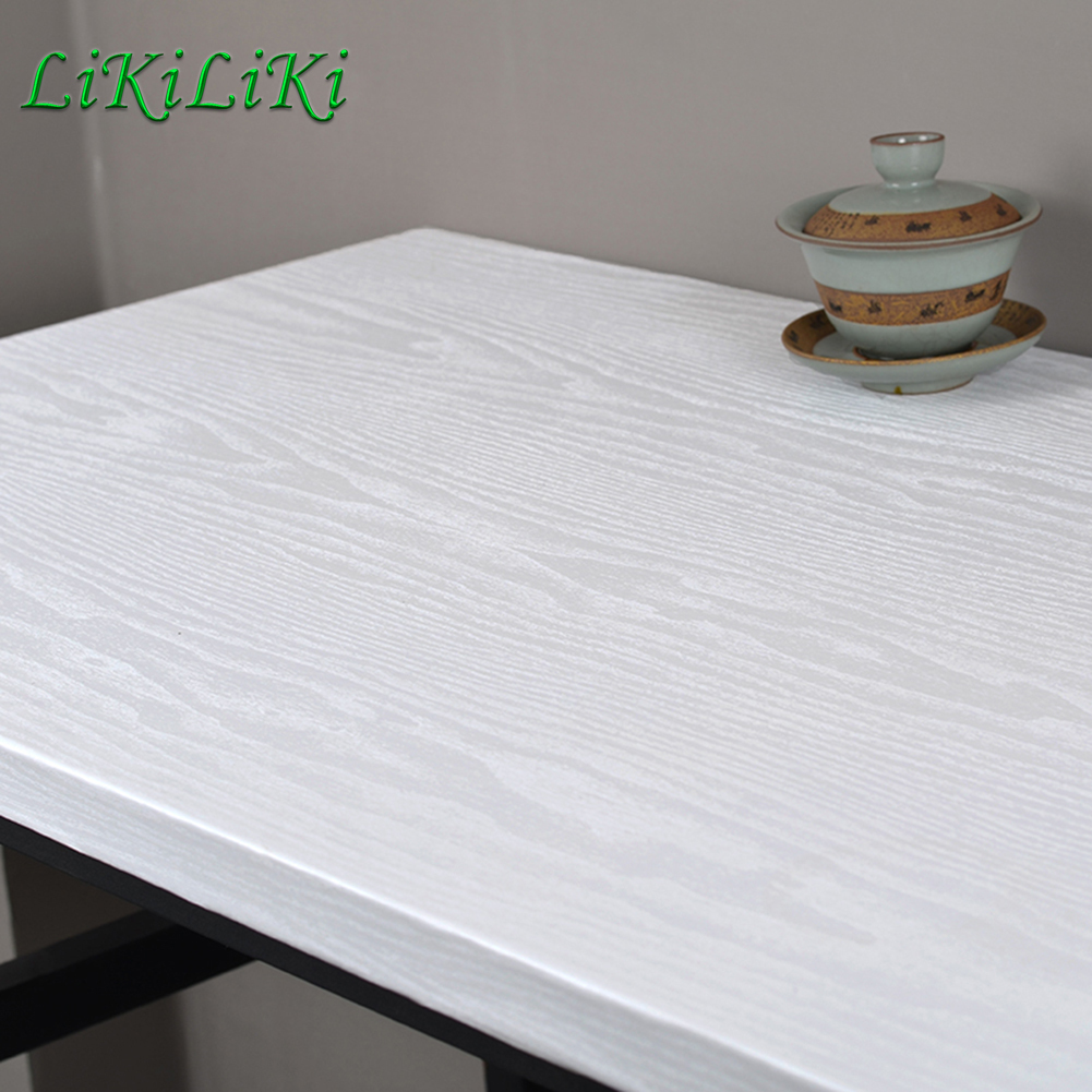 Waterproof Thick Wood Grain Wallpaper Self Adhesive Wall Stickers Living Room Kitchen Cabinet Furniture Improvement Home Decor