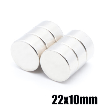 20pcs 22x10mm magnetic neodymium iron boron strong magnet strong magnetic magnet strong magnet magnetic steel round magnet 22x10 фото