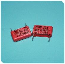 10PCS 레드 WIMA MKP10 0.1 미크로포맷 250V p15mm 오리지널 MKP 10 104/250V 오디오 100nf 필름 104 PCM15 뜨거운 판매 100NF/250V