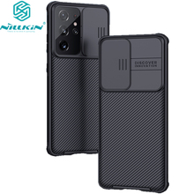 NILLKIN For Samsung Galaxy S21 Plus/S21 Ultra 5G Case,Camera ProtectionSlide Protect Cover Lens Protection For Samsung S21+Plus