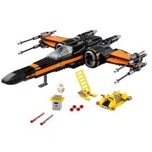 Star Poes Wing Fighter Building Blocks Wars Model Bricks Toys