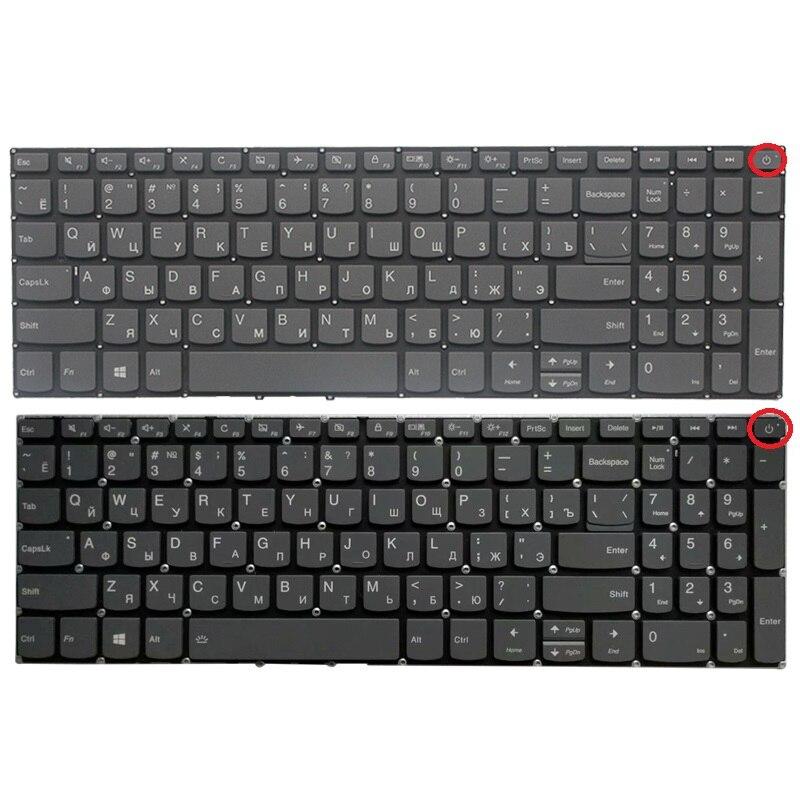Новая русская клавиатура для ноутбука Lenovo IdeaPad 520-15 520-15IKB L340-15 L340-15API L340-15IWL L340-17 L340-17IWL Клавиатура черного цвета
