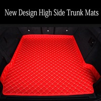 Custom made Car trunk mats cargo Liner for BMW X6 E71 E72 F16 all weather case waterproof 6D car styling high quality rugs carpe