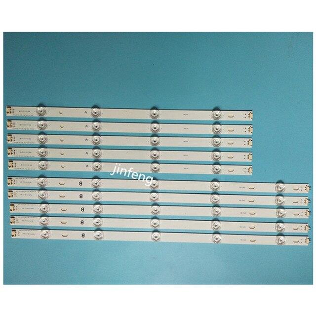 New 10pcs LED backlight strip Replacement for LG 50LB5610 50LB650V 50LB653V 50LF5800 6916L 1978A 1779A 1983A 1982A 1735A 1736A