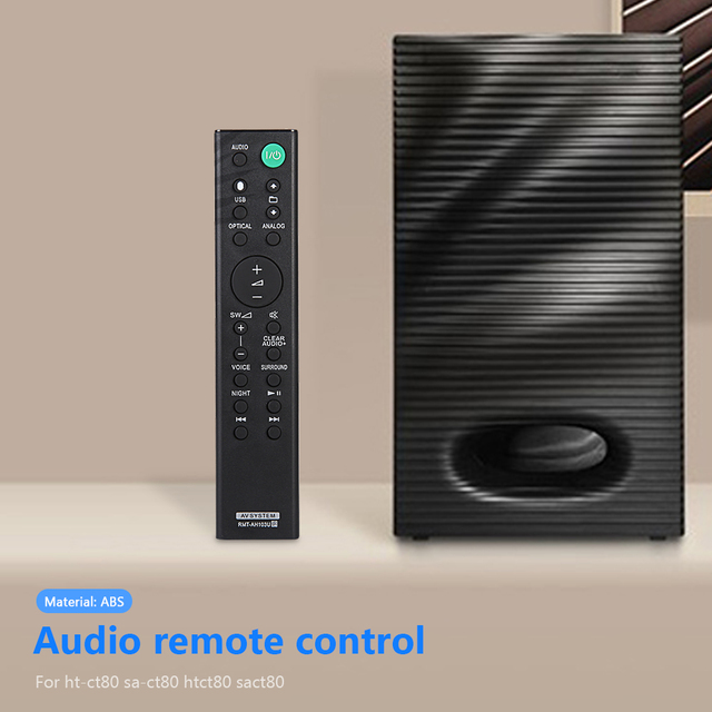 RMT AH103U Remote Control Space saving Power Amplifier for SO NY HTCT80 HTCT80 SACT80 SS WCT80 Sound Bar Ornaments