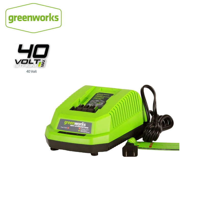 Free Shipping Lithium Battery Charger GreenWorks 29482 G-MAX 40V Li-Ion Charger For 40V Battery 29472 Free Return