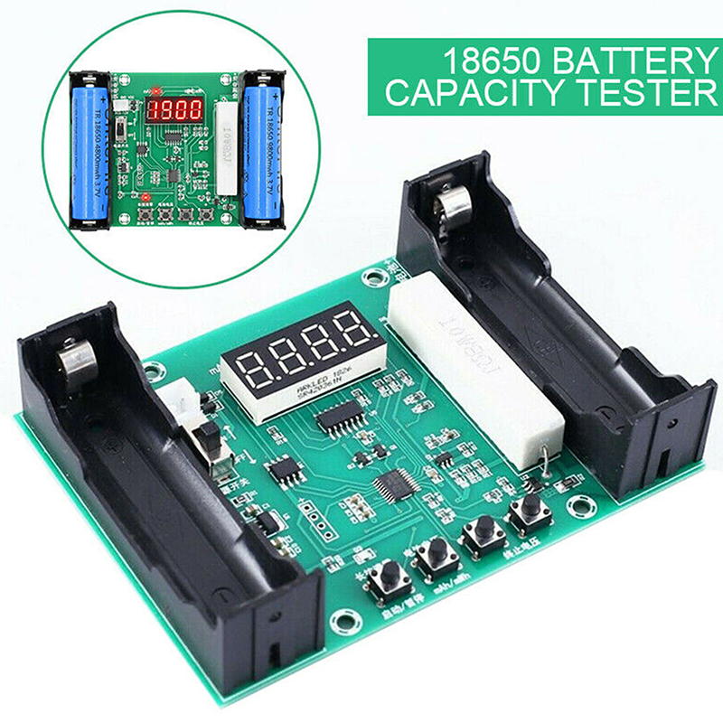 MAYITR 1pc Portable Battery Capacity Tester Digital Measurement Module For 18650 Lithium Discharge Energy Testing Meter