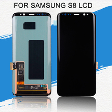 Dinamico Amoled S8 Display For Samsung Galaxy S8 Lcd G950 G950F Display Touch Screen Digitizer Assembly Free Shipping With Tools 2pcs black lcd for samsung galaxy s i9000 lcd touch screen display with digitizer full assembly free shipping tracking no