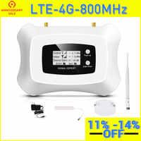 ¡De alta calidad! Amplificador de señal LTE 4G 800MHz, repetidor de señal de teléfono móvil 4G amplificador de señal celular LTE 4g kit repetidor