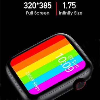 Original IWO W26 + Pro W26 W46 HW12 HW16 HW22 40MM/44MM Smart Watch Series 6 Women Men Bluetooth Call Sport Smartwatch 3