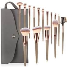 Makeup Brushes Tool Set Cosmetic Powder Eye Shadow Foundation Blush Blending Beauty Make Up Brush 7/10/15Pcs Beauty Tools Kit