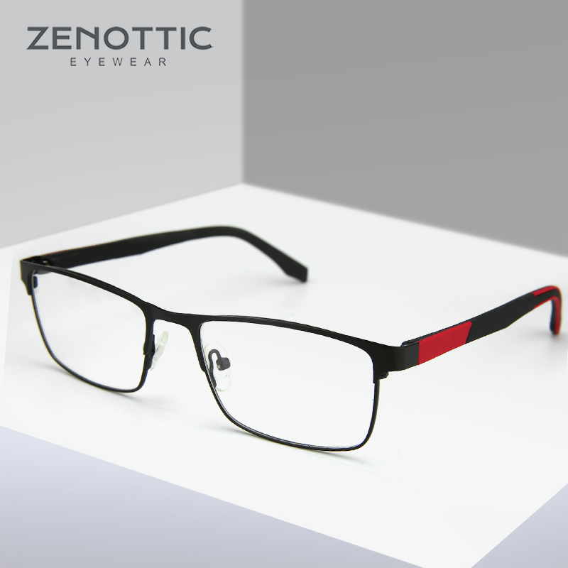 Metal <font><b>Prescription</b></font> <font><b>Glasses</b></font> <font><b>Men</b></font> Optical Eyeglasses Anti-blue light Photochromic <font><b>Glasses</b></font> Frame <font><b>Progressive</b></font> Women <font><b>Glasses</b></font> Eyewear image