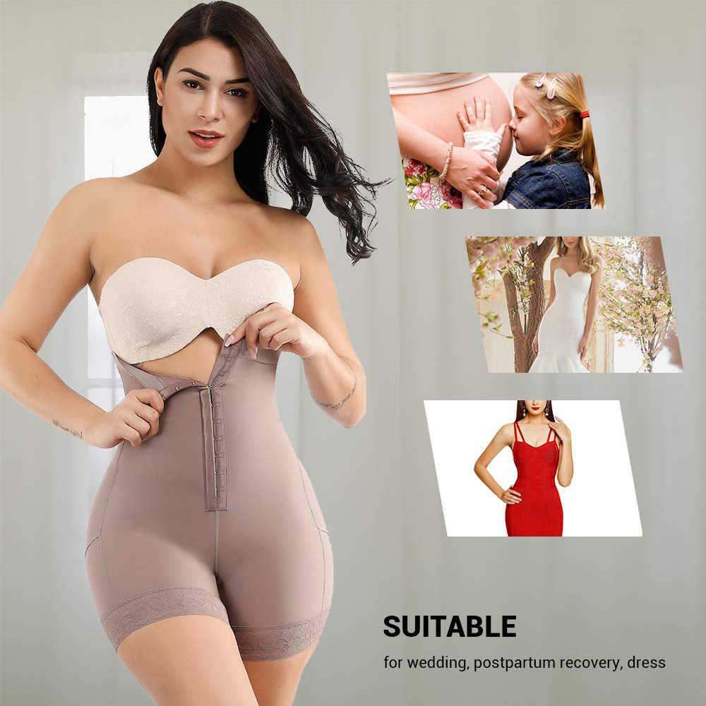 בלתי נראה גבוהה מותן Shapewear בטן בקרת תחתונים הרזיה התחת מרים לאחר לידה גוף Shaper תחתונים בתוספת גודל מותניים מאמן