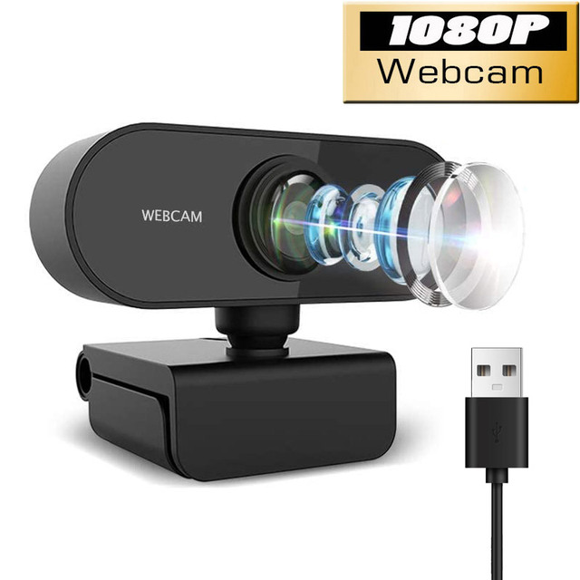 1080P/720P Webcam Conference USB Para PC Web Camera With Mic Interface With For Video Calling Network Teaching Office Meeting 1
