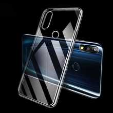 Ultra Thin Clear Transparent Soft TPU Case For Asus Zenfone Max Pro M2 ZB631KL M1 ZB601KL Phone Case Cover qijun brand glitter bling flip stand case for asus zenfone max m1 zb555kl plus pro m1 zb601kl zb570tl wallet phone bag cover