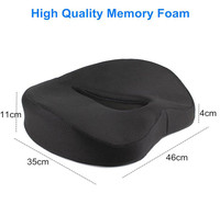 Donut Pillow Hemorrhoid Seat Cushion Tailbone Coccyx Orthopedic Medical Seat Prostate Chair Cushion for Hemorrhoids Memory Foam