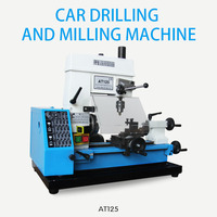 DIY Small Processing Metal Small Lathe Mini Household Car Drilling and Milling Machine Vertical Milling Machine for Metal