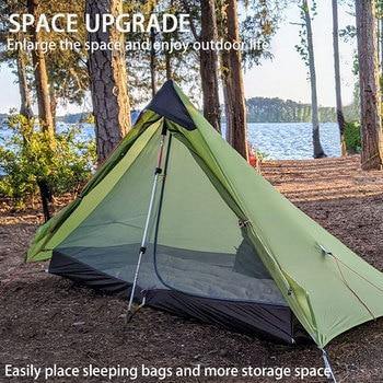 3F UL GEAR Lanshan 1 Ultralight Camping 3 Season 15D Tent 3