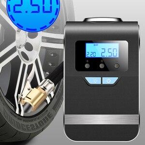 Image 3 - EAFC pompe à Air Portable numérique de gonflage de pneus, pour voiture, système de gonflage numérique, 4 en 1, 12V