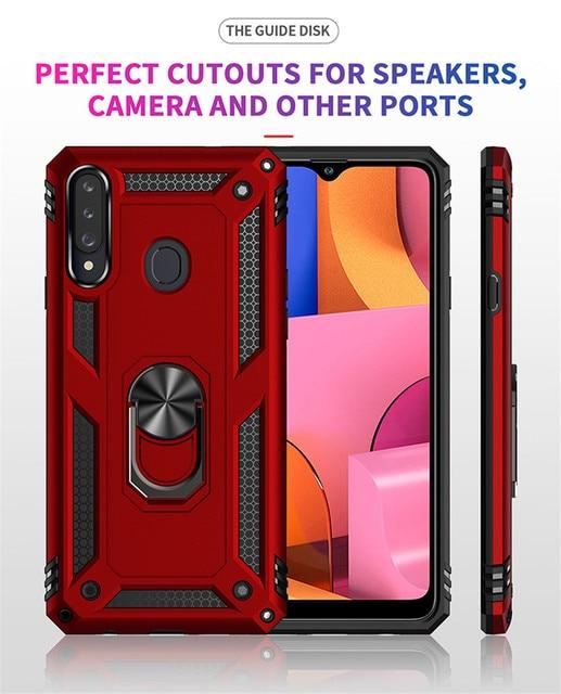 Магнитный чехол для Samsung Galaxy A10, A20, A30, A40, A50, A70, A10E, A20E, A10S, A20S, A30S, A01, A11, A21, A31, A41, A51, A71, 5G 3