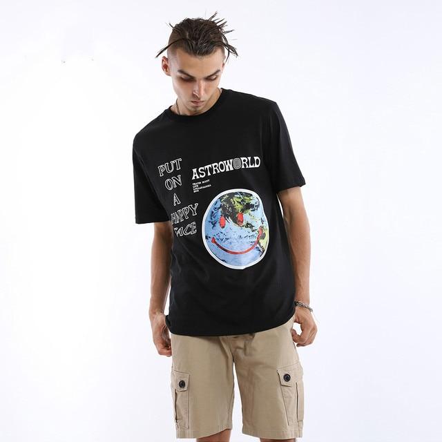 Travis Scott Astroworld Smiley T Shirt 1