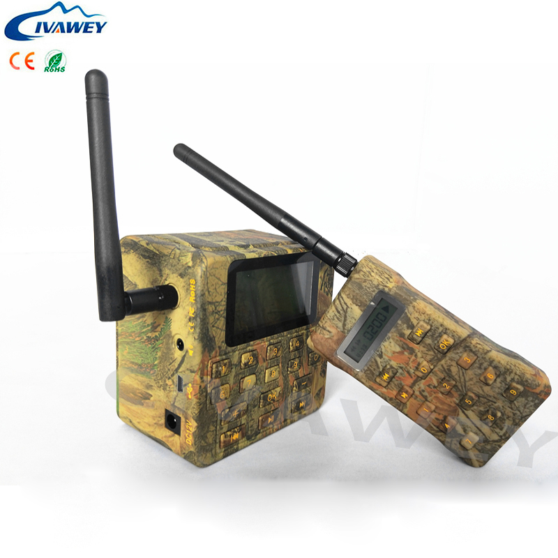 100W loud speaker 200dB 500M remote controller hunting bird sounds voice mp3 player hunting duck goose decoy caller timer on/off