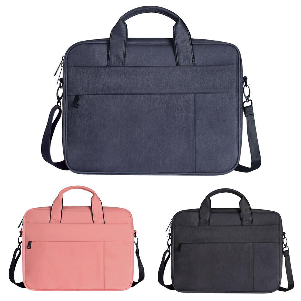 New Shockproof Nylon Shoulder Handbag Messenger Bag For Xiaomi Mackbook Air 13 14 15 15.4 15.6 Notebook Case Women Men Sleeve