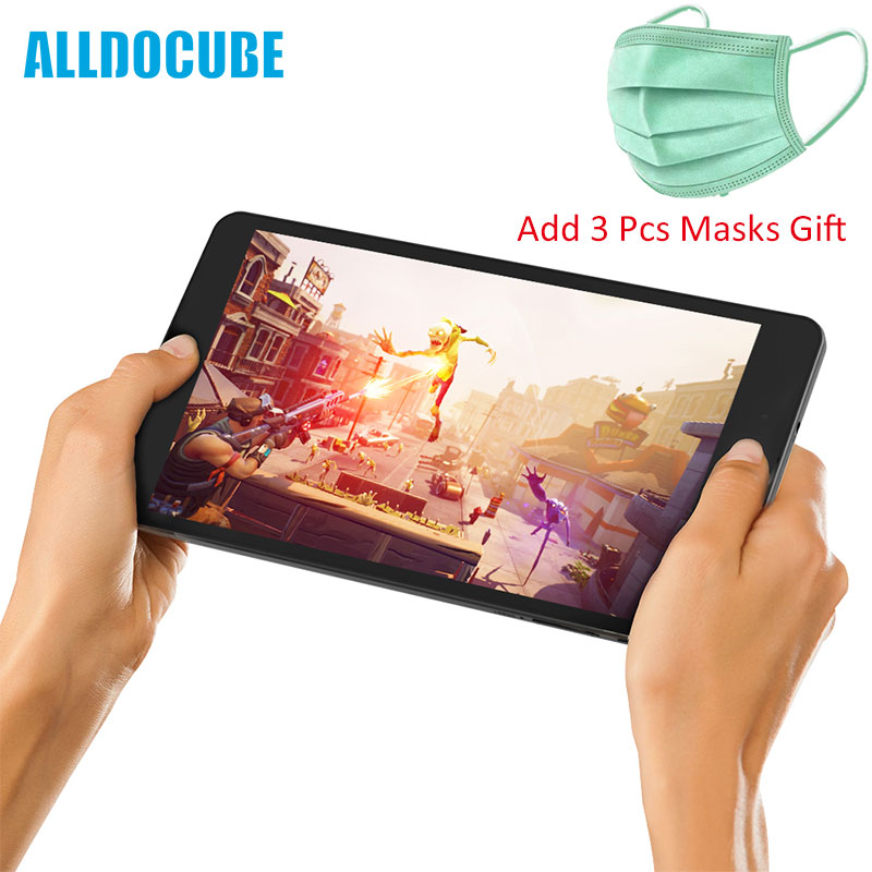 ALLDOCUBE M8 Android 8.0 Tablet Deca Core 8 Inch 1200X1920 Tablet PC MTK MT6797 RAM Dual 4G Phone Dual WiFi Medical Mask Gift