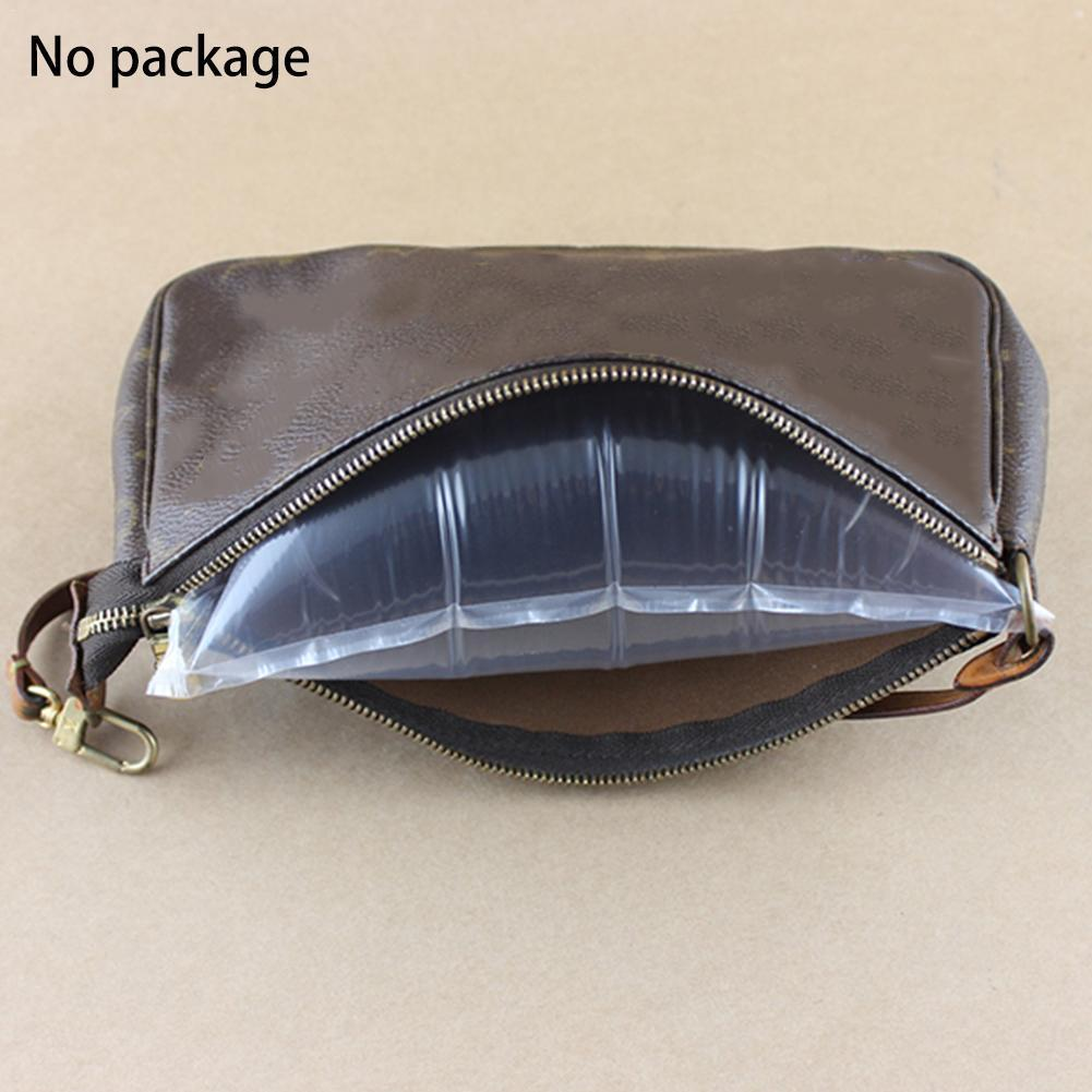 100Pcs Buffer Bag Inflatable Bubble Packing Cushion Bags Air Bubble Office Cushion Air Wrap Bags Shockproof Supplies Pouche T1Q3