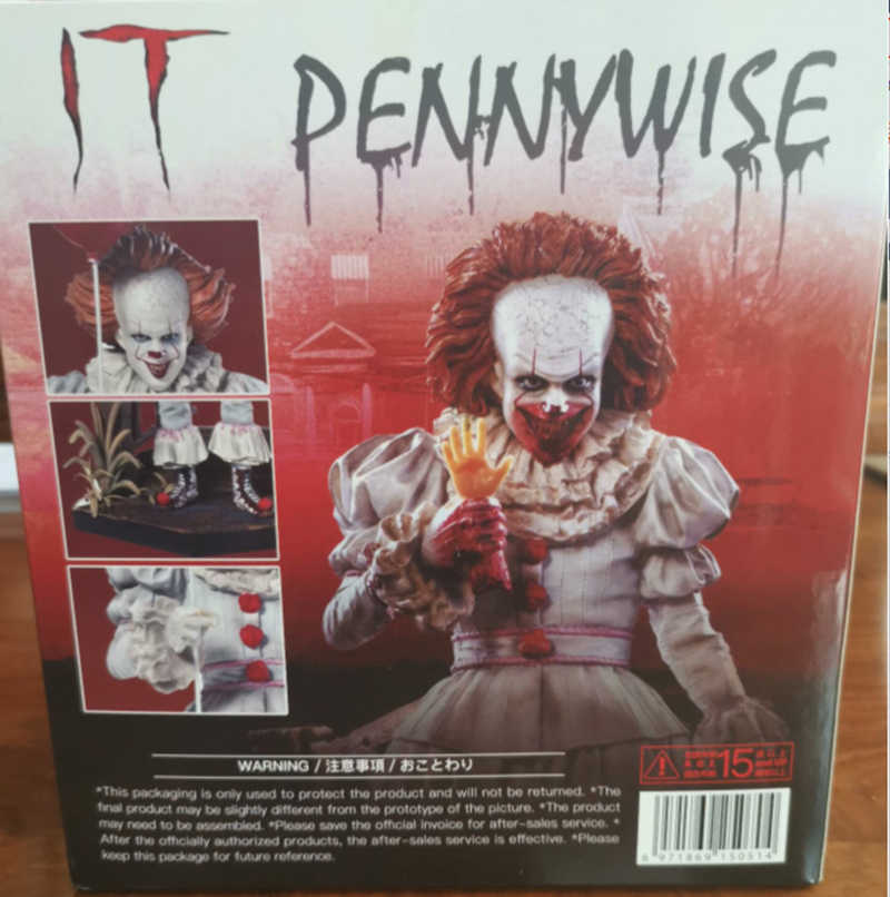IT Pennywise Figure IT 조커 스티븐 킹스 아이언 스튜디오 PVC 액션 피규어 Collectable Model Toy