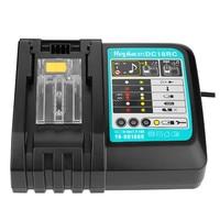 NEUE DC18RCT Li-Ion Batterie Ladegerät 3A Ladestrom für Makita 14,4 V 18V BL1830 Bl1430 DC18RC DC18RA Power tool 1A ladegerät