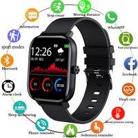 LIGE Neue Männer Smart Uhr Armband Männer Frauen Sport Uhr Herz Rate Monitor Schlaf Monitor Bluetooth Anruf Smartwatch für telefon