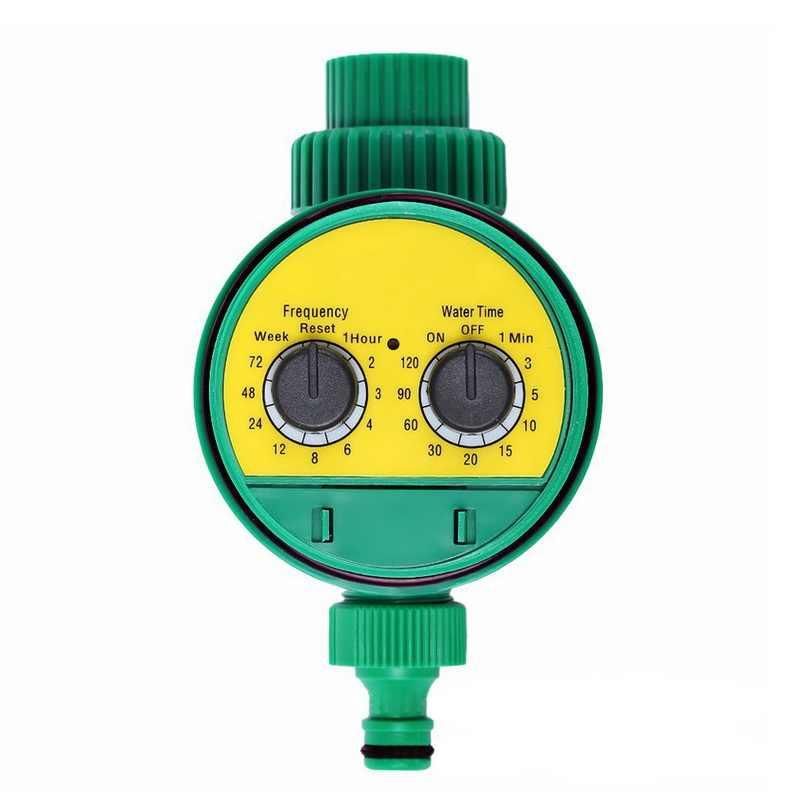Otomatis Smart Irigasi Controller LCD Display Penyiraman Timer Selang Keran Timer Tahan Air Luar Ruangan Otomatis On Off US UK