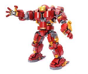 Image 5 - Iron Man Hulkbuster Lepining 76105 Marvel Ironman Avengers Super Heroes Model Kit Building Blocks Boys Christmas Gifts Kids Toys