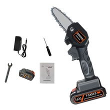 Pruning-Saw Electric Mini Portable Woodworking Lithium-Battery One-Handed Garden 36V
